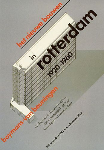 Modern Architecture in Rotterdam 1920-1960 (Wim Crouwel - Total ...