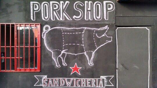 Fachada Pork Shop