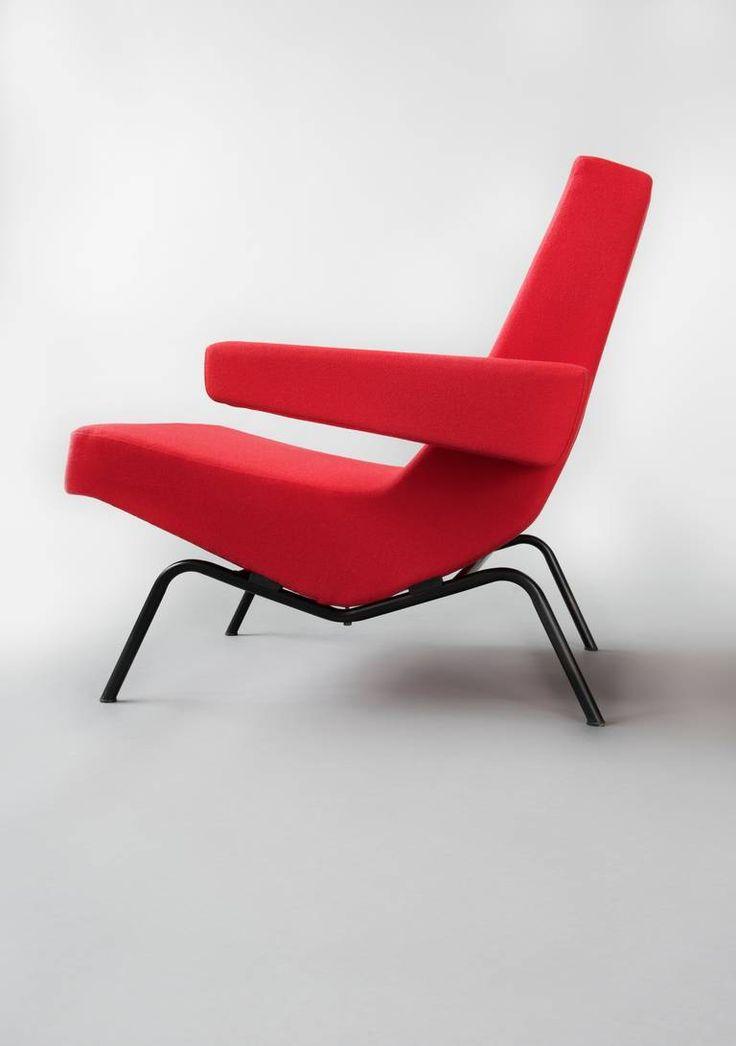 Pierre Paulin; CM195 Lounge Chair for Thonet, c1958.