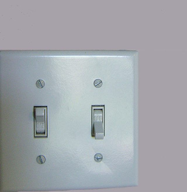 How To Wire Two Light Switches With One Power Supply Hunker Installing A Light Switch Light Switch Wiring Light Switch