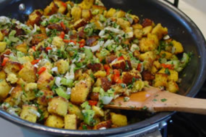 Sausage stuffing, Stuffing recipes and Stuffing on Pinterest