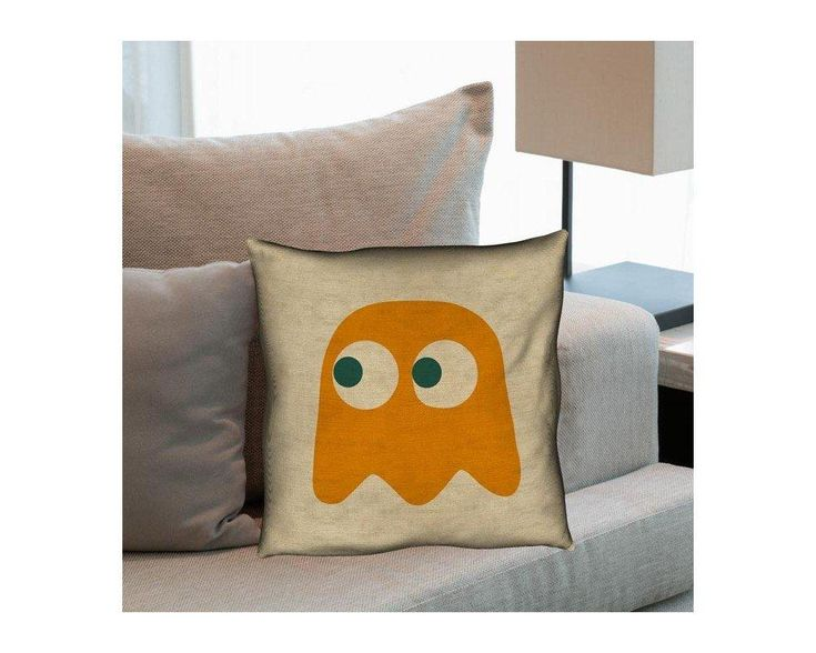 Pac-Man Clyde Ghost, διακοσμητικό μαξιλάρι ,9,90 €,https://www.stickit.gr/index.php?id_product=17692&controller=product