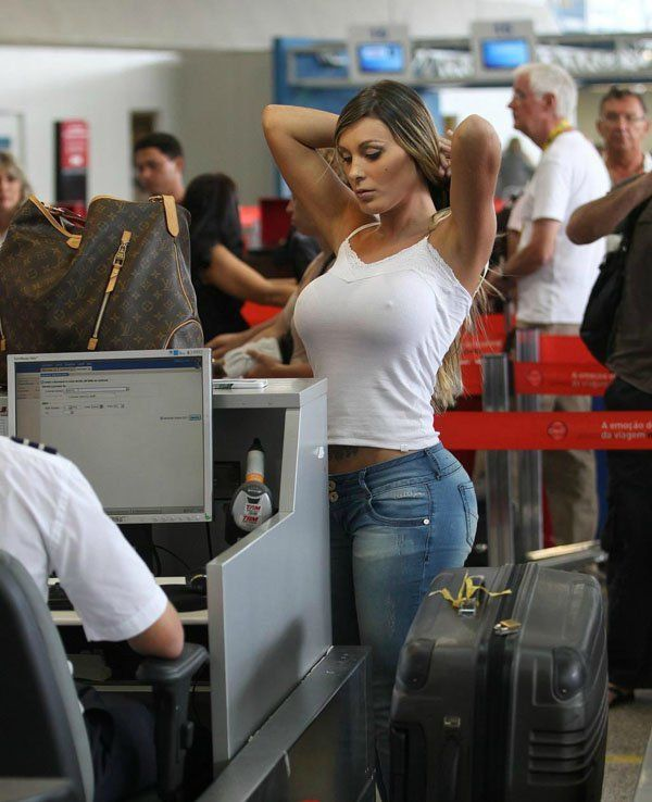 Asian girls images airport security-2933