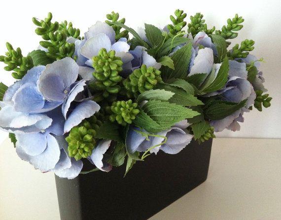Modern Artificial Succulent Floral Arrangement by ArtsFloralDesign, $48.00