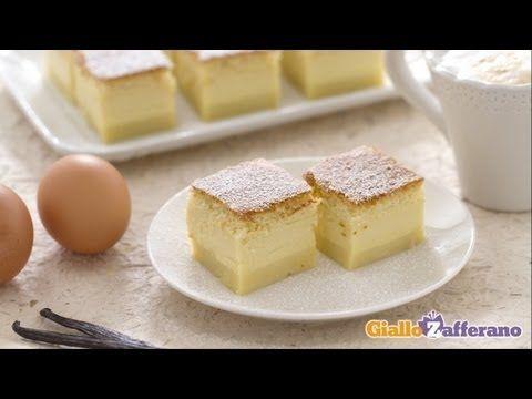 Una torta che sta conquistando il #web e anche noi: la TORTA MAGICA (magic cake)! Qui la #ricetta: http://ricette.giallozafferano.it/Torta-magica.html  #GialloZafferano #Video #ricette #dolci