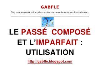 Gabfle - Passé composé et imparfait