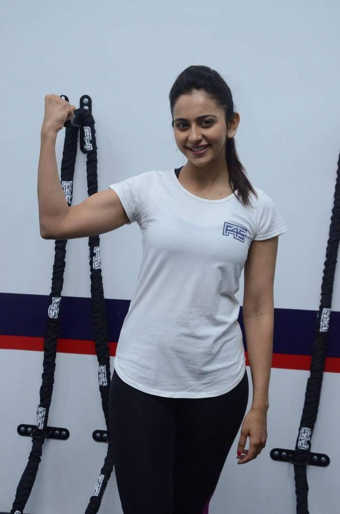 Rakul Preet Singh Photos At F45 Gym Launch At Kokapet-04