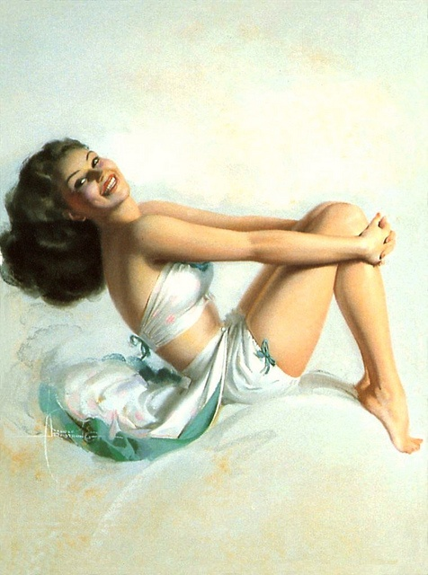 Rolf Armstrong by mmmmm girl, via Flickr