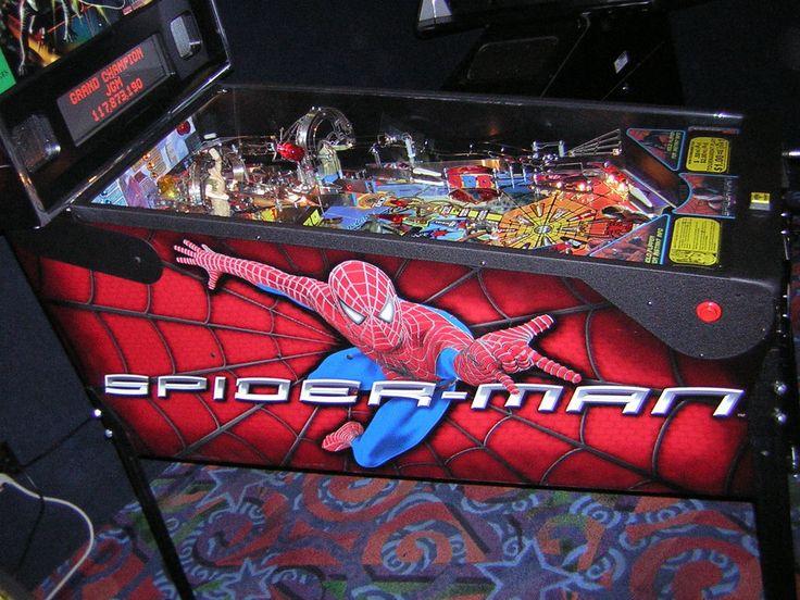 Spider-Man, Stern Pinball, June 2007, side