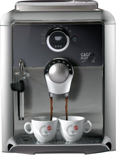 Special Offers - Gaggia 90800 Platinum Vogue Automatic Espresso Machine Silver - In stock & Free Shipping. You can save more money! Check It (May 05 2016 at 10:01PM) >> http://standmixerusa.net/gaggia-90800-platinum-vogue-automatic-espresso-machine-silver/