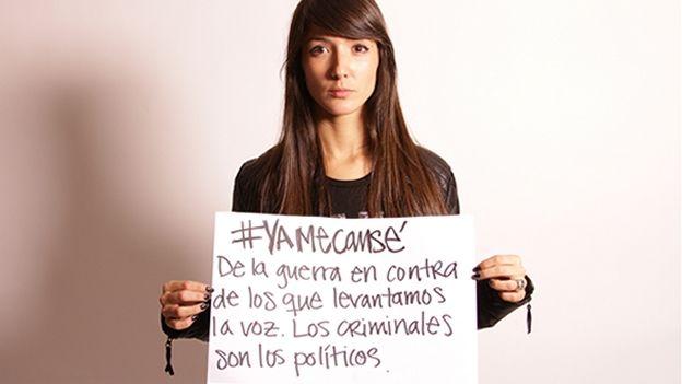 Artistas mexicanos exigen justicia por Ayotzinapa y dicen #YaMeCansé - Entretenimiento - CNNMexico.com