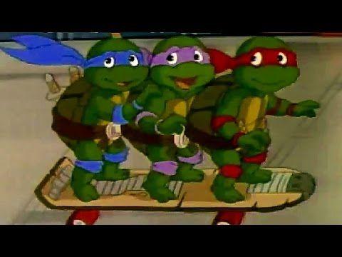 Teenage Mutant Ninja Turtles Small Turtles [Cartoons for kids] - YouTube