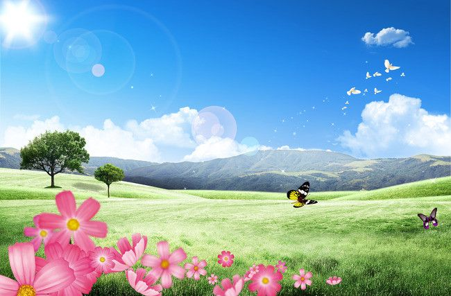 Beautiful Natural Scenery In Spring Beautiful Nature Pictures Scenery Wallpaper Natural Scenery
