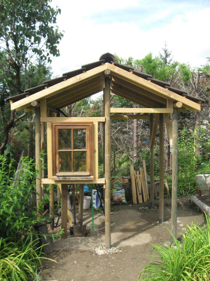1000+ Ideas About Garden Huts On Pinterest