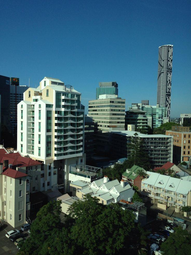 Brisbane buildings.