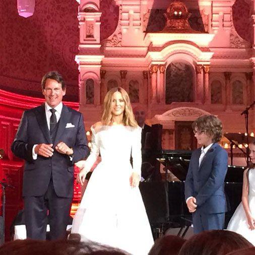 Le maire de Québec Régis Labeaume déclare Pierre Karl Péladeau et Julie Snyder unis par les liens du mariage.