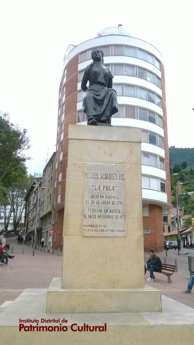 Monumento 'La Pola' - Limpiado y las superficies afectadas por corrosión, reparadas. También se aplicó pintura especial para protegerlo de futuros posibles daños