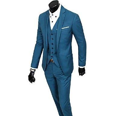 mannen stevige zwarte grijs blauwe pakken, formele blazer en broek (vest excl) 1763771 2016 – €54.87