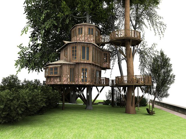 251 best Epic treehouses!! images on Pinterest | Tree houses ... Lakes Dollhouse Tree House Designer on