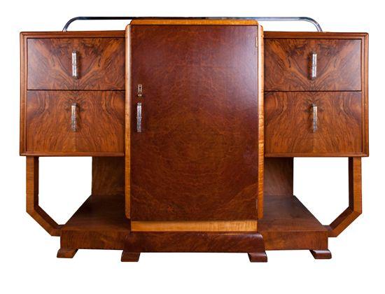 Art Deco Sideboard British c.1930