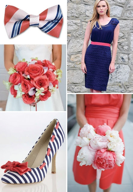 25 best ideas about coral navy weddings on pinterest