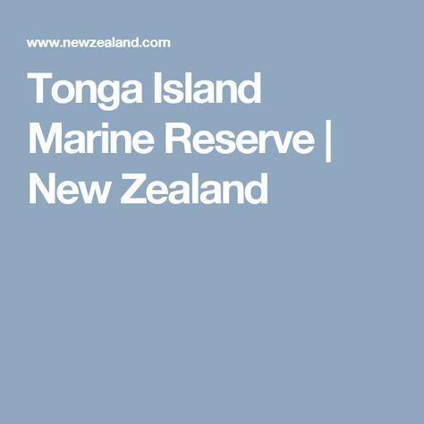 Tonga Island Marine Reserve | New Zealand