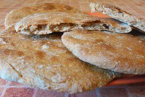 Живой хлеб (здоровые и полезные лепешки без закваски и дрожжей)