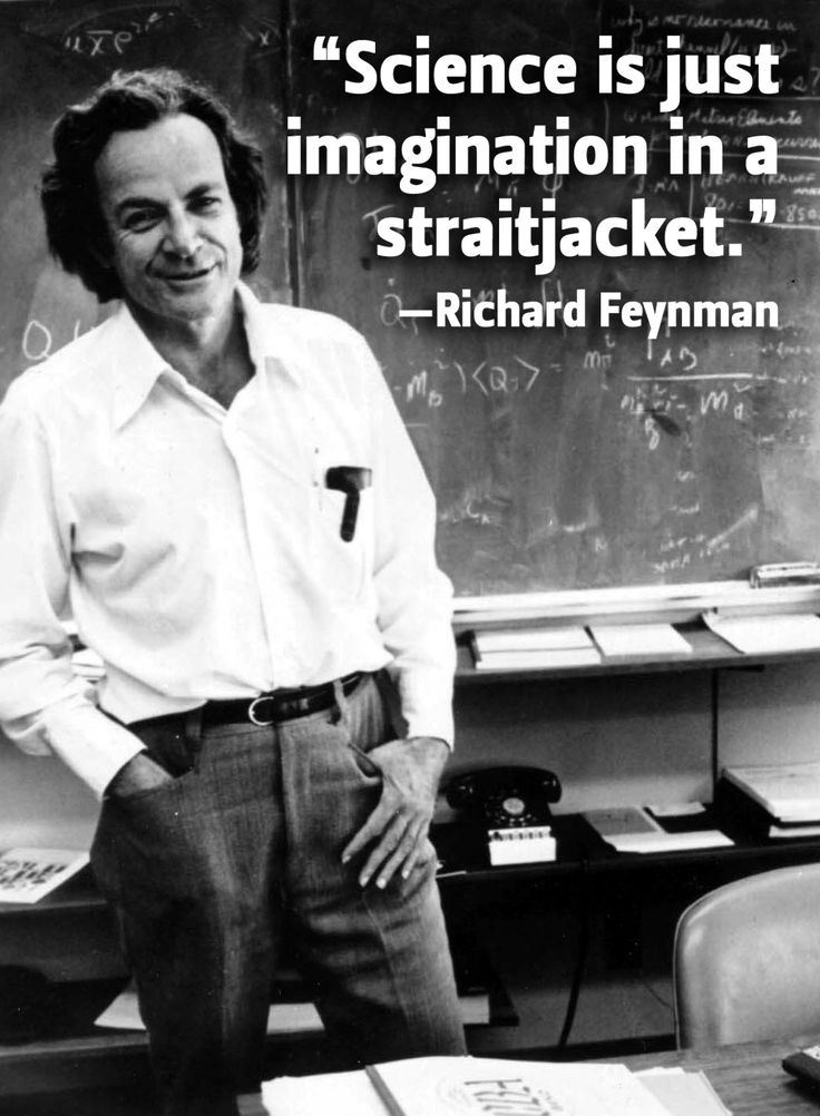 Richard Feynman - American physicist, a Nobel Prize winner in physics and highly valued university professor.