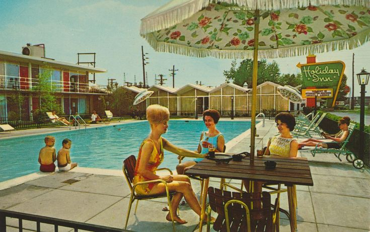 1544 best images about vintage motels and hotels on - Holiday lodges with swimming pools ...