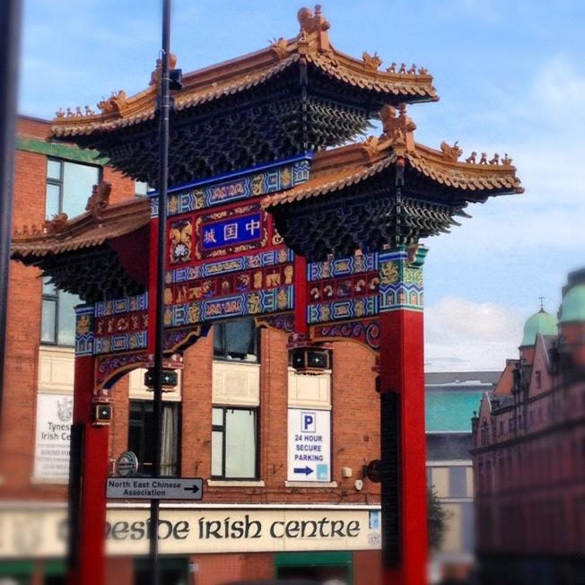 China Town, Newcastle upon Tyne - #CulturalPhotobomb