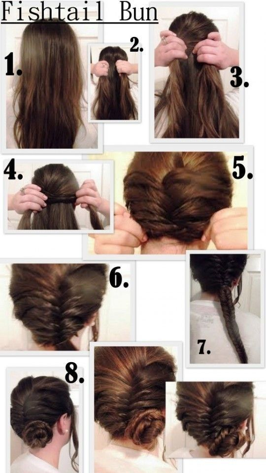 Cute and Easy Fishtail Braid Hairstyles /Via A lot of people agree that the sweet soft Fishtail Braid is one of the simplest yet funniest hairstyles. This fishtail braid looks modern, infinitely sexy and it can last in great shape all day long. So you do not need to worry about the rain or wind[Read the Rest]