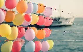 balloon wall!!