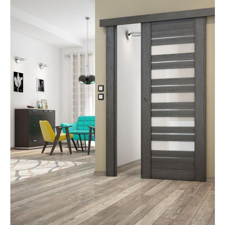 Skrzydło przesuwne TOLEDO VOSTER - Drzwi przesuwne wewnętrzne - w atrakcyjnej cenie w sklepach Leroy Merlin.