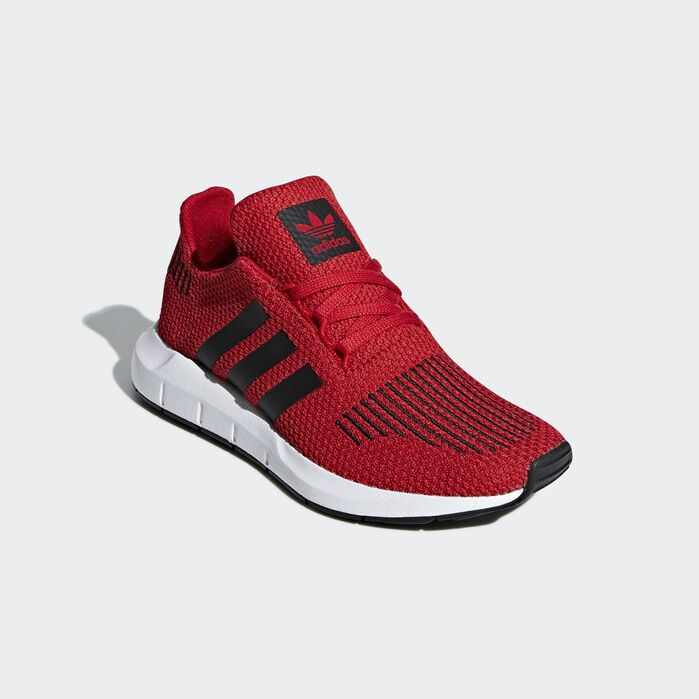 Swift Run Shoes Red | Knit shoes, Adidas, Kid shoes