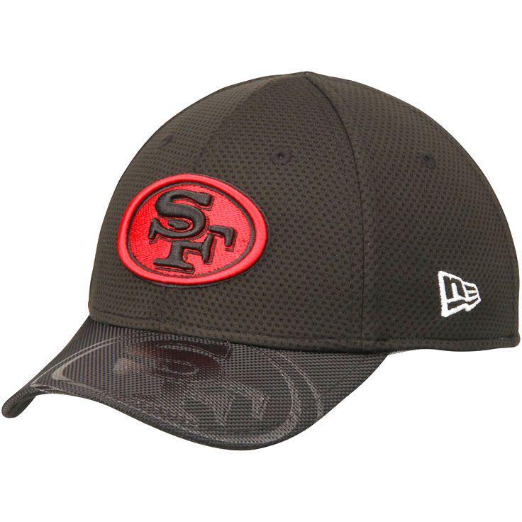 San Francisco 49ers New Era Toddler 2016 Sideline Official 39THIRTY Flex Hat - Black - $24.99