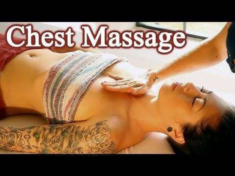▶ Chest Shoulder Massage Therapy, How To Swedish Deep Tissues Techniques - YouTube