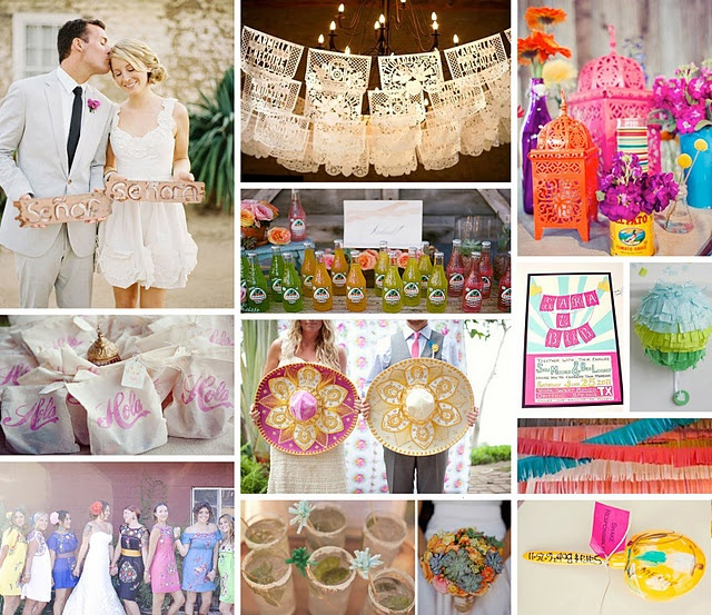"""All of this fits into my vision perfectly!!! Can we bring in the mexican sodas? I love the """"HOLA"""" welcome bags if anyone has a lead, and the colors are great and vibrant. Two thumbs up!"""