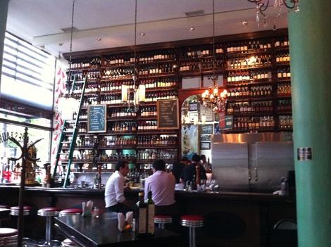 Liguria Bar in Santiago Chile
