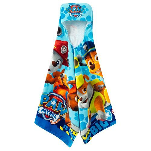 Paw Patrol Rescue Crew Hooded Towel Wrap Lucas Paw