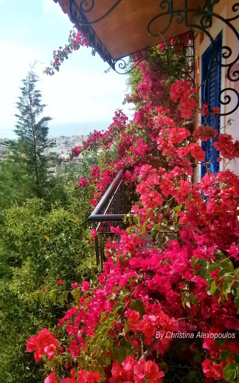 Patra Greece, beautiful balcony View (By Christina Alexopoulos)