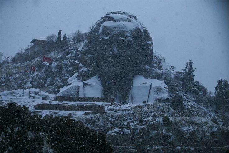 İzmir'de kar