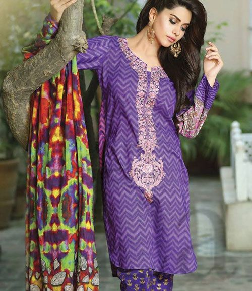 Dahlia Embroidered Suit Collection SCB_07