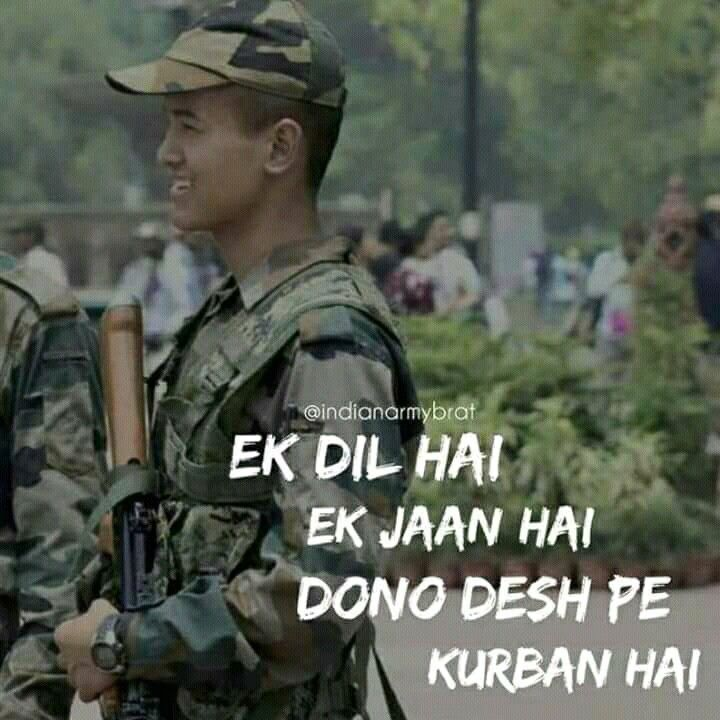 Pin by Mercy Fernandes on creative art | Indian army quotes ...