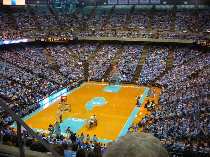 "Dean Dome Chapel Hill North Carolina ""Tarheels Basketball"""