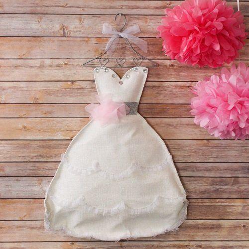 Bridal Shower Dress Door Hanger by Beau-coup