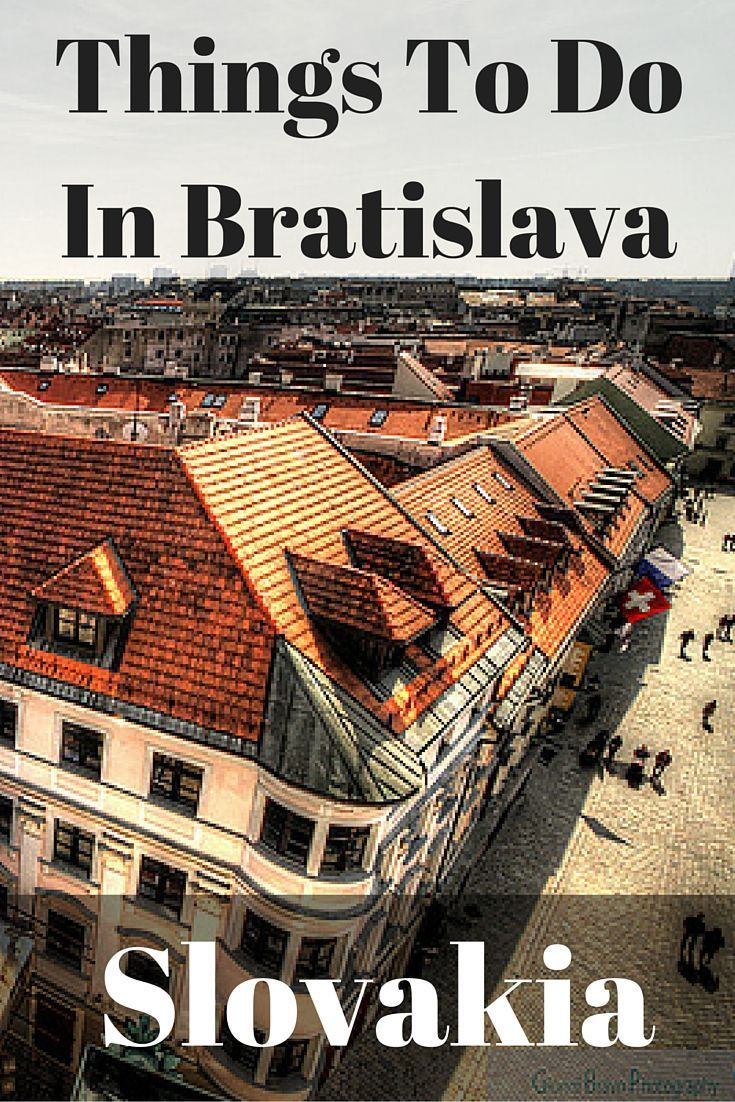 """There are plenty of things to do in Bratislava, and you will enjoy each one! Made infamous by """"Euro Trip"""" and """"Hostel"""", but in the wrong way. One cool city"""