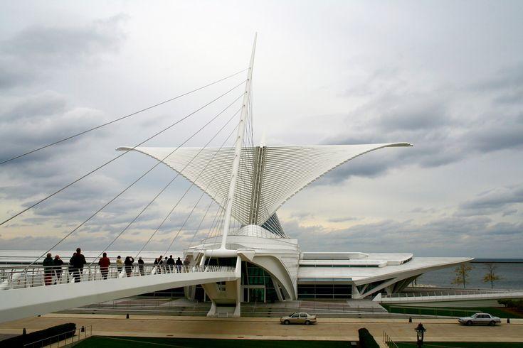 Resultado de imagem para Milwaukee_Art_Museum_1_(Mulad)