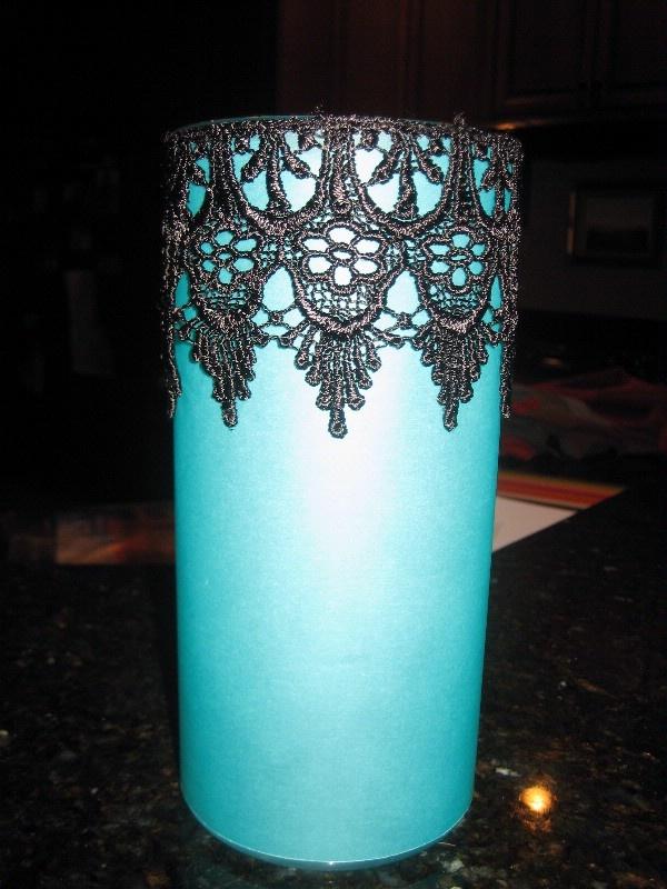 Black And Turquoise Wedding Theme