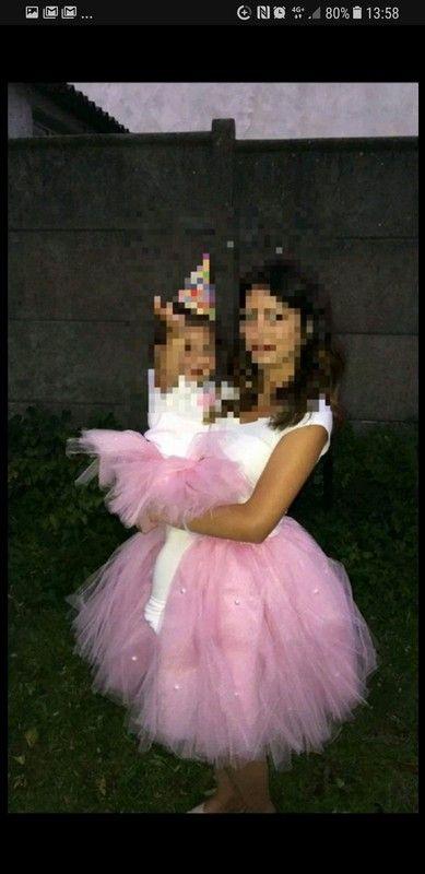 Jupe tutu mère et fille