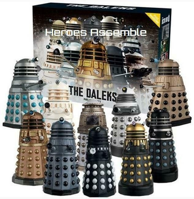 "Doctor Who//Torchwood 5.5/"" Figurine DALEK SEC HYBRID Daleks dans Manhatten"